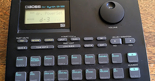 Boss DS 330 Dr Synth and what it does