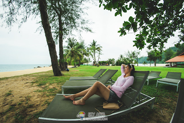 Taking a nap at Zen Space is one of the things that you should do in Club Med Cherating