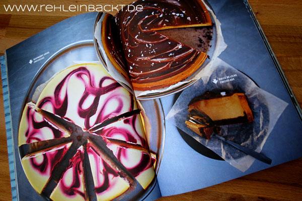 New York Sweets von RoyFares – Meine Rezension plus Rezepttest: Cheesecake-Swirl-Brownies | Foodblog rehlein backt