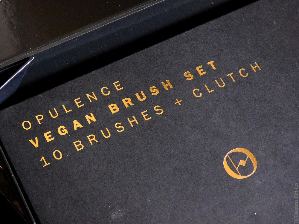Zoeva Cosmetics | Opulence Collection - Eyeshadow Palette, Face Blush Palette, Vegan Brush Set with Clutch