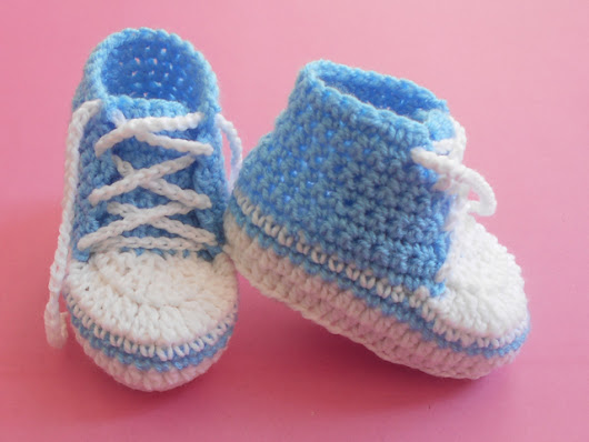 Baby Converse Booties