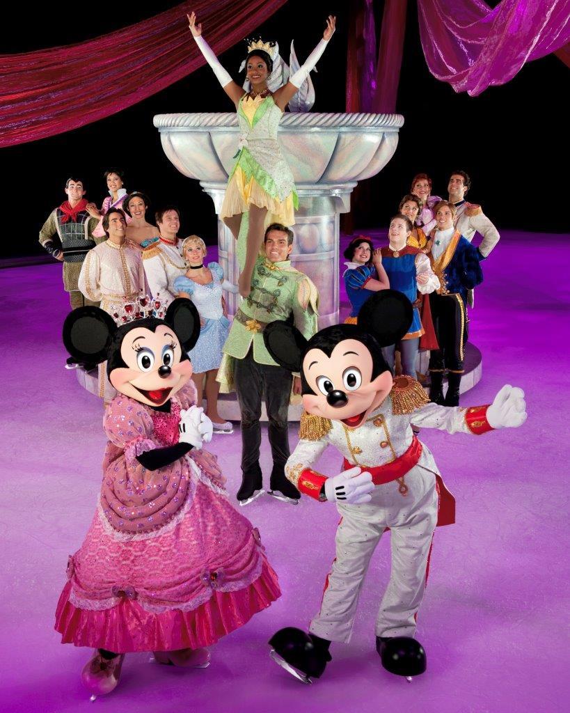Mickey and Minnie Disney On Ice
