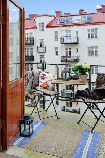 textiles para balcón