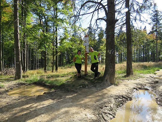 Czerniawa Sucha - pierwszy wierzchołek.