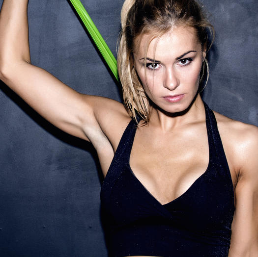 8 Muscle-Shaking Barre Exercises You Can Do with Resistance Bands