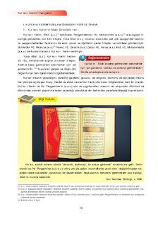 7. Sınıf Kuranı Kerim Ders Kitabı Cevapları Ata Yayınları Sayfa 10