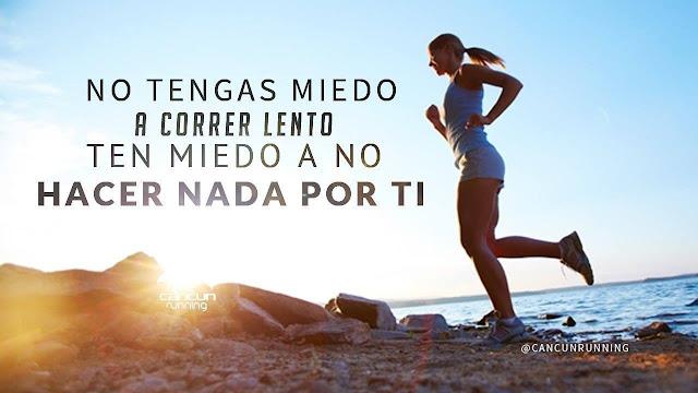 no tengas miedo a correr lento