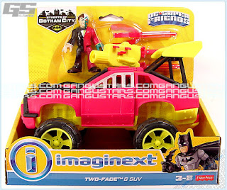 Streets of Gotham Two-Face & SUV Walmart Batman Fisher-Price Imaginext DC Comics Super Friends アメコミ バットマン