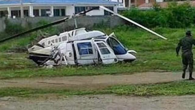 otro helicóptero Dhruv accidentado
