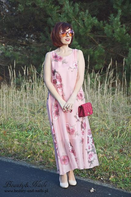 FASHIONMIA | letnia sukienka bez rękawków.