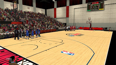 NBA 2K13 Summer League 2013 Court Patch