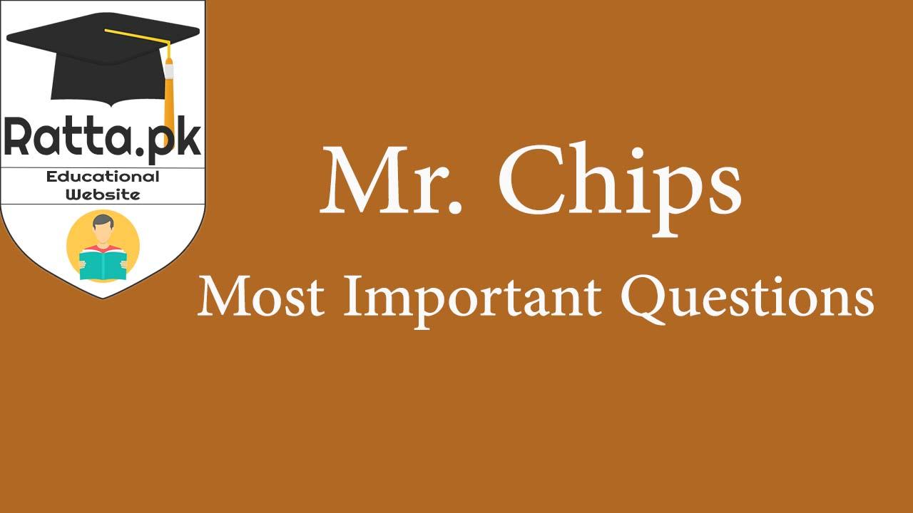 Goodbye Mr Chips Novel In English Pdf