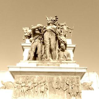 Detalhe do Monumento à Independência do Brasil, São Paulo