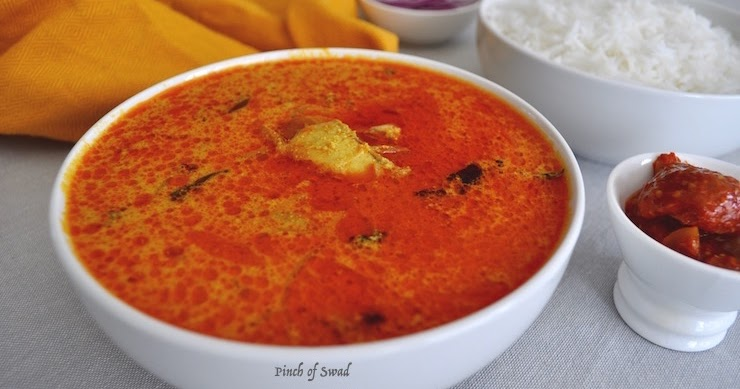 Pinch of swad fish curry with coconut milk instant pot for Instant pot fish recipes