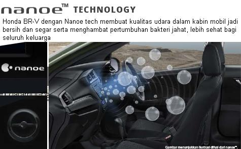 honda brv nanoe technology