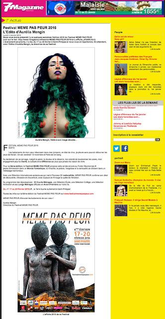 L'édito de la 6ème édition du Festival dans 7 Magazine !