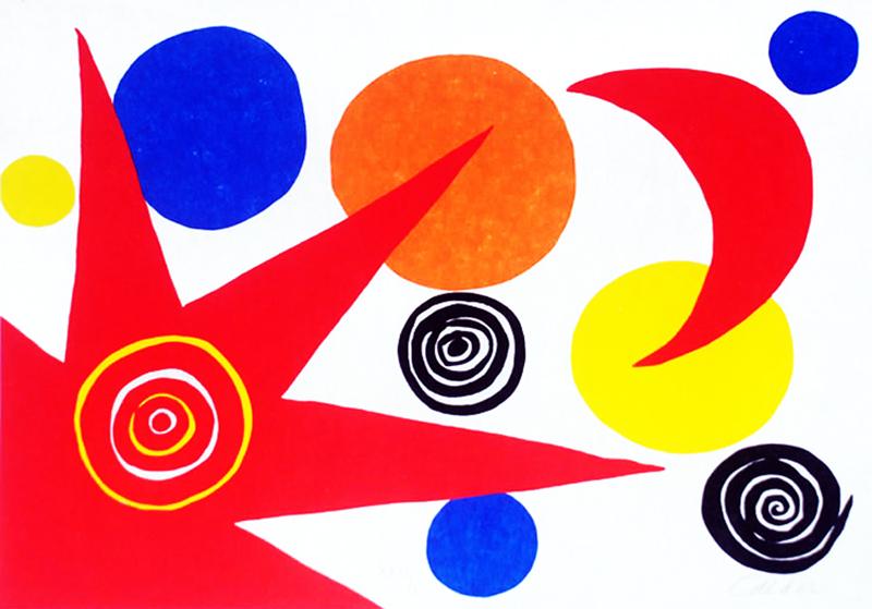 Resultado de imagen para alexander calder pinturas