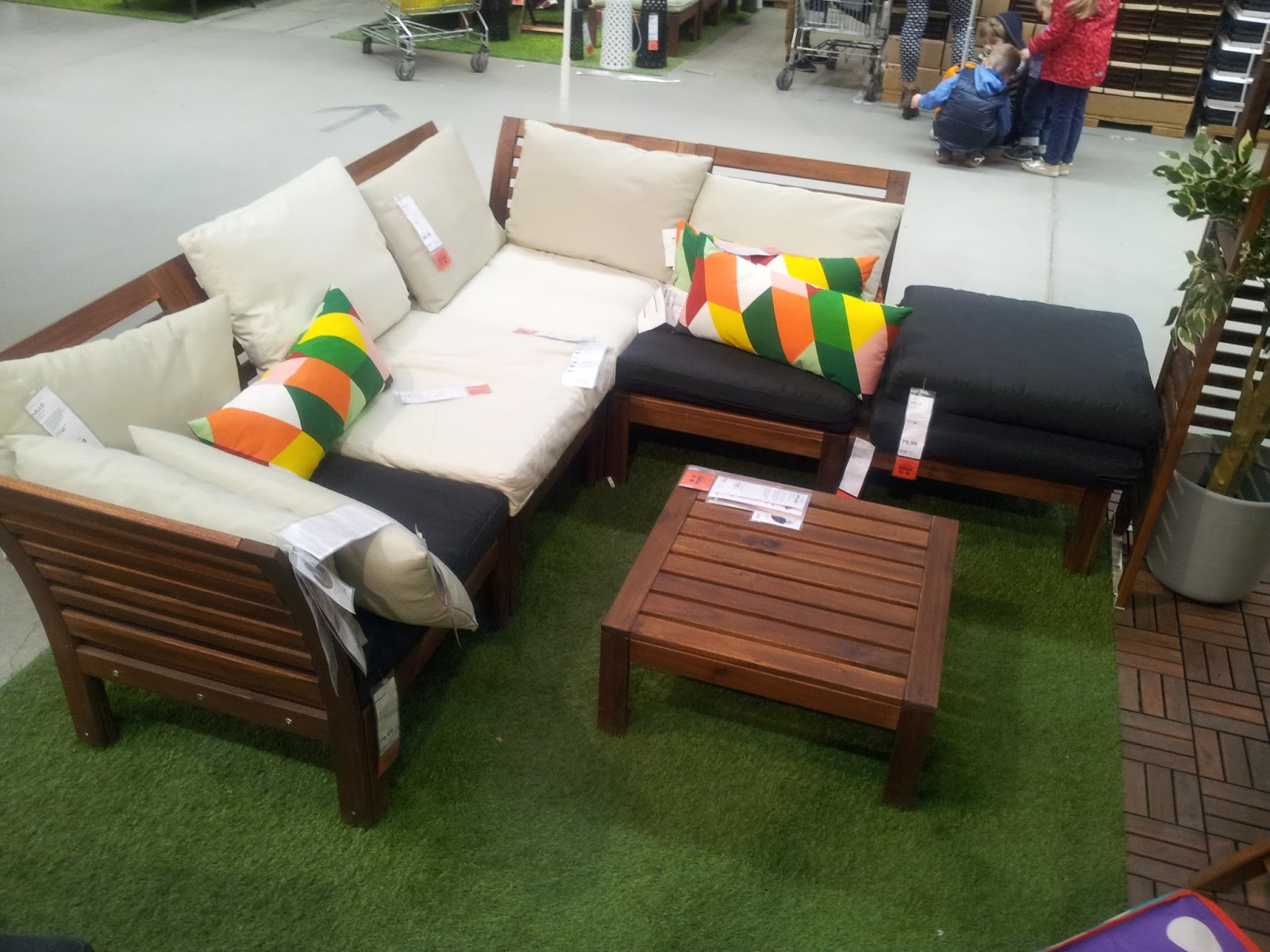 Meble Ikea Na Balkon Taras Ogród D E K O L A N D Wnętrza