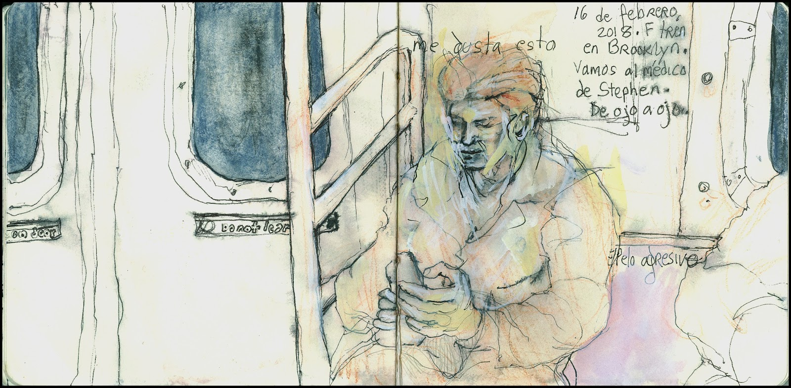 Life up close in Brooklyn city within a city. | Urban Sketchers