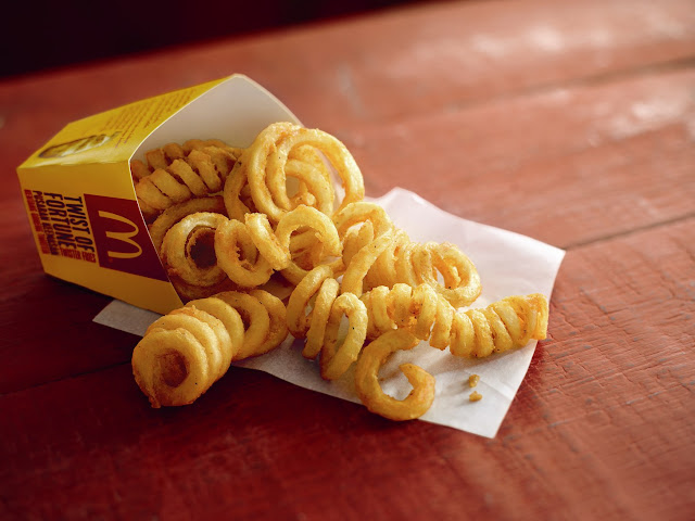 Curly Fries to accompany that delicious Prosperity Burger