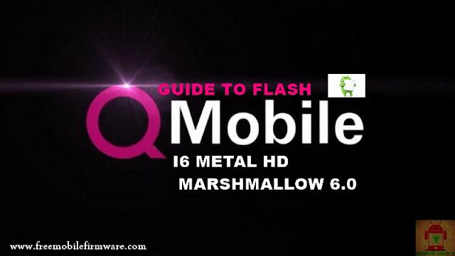 Guide To Flash QMobile I6 Metal One SC7731 Marshmallow 6.0 SPD Flashtool Method