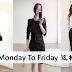 OL Monday To Friday这样穿!不用再烦穿什么了!