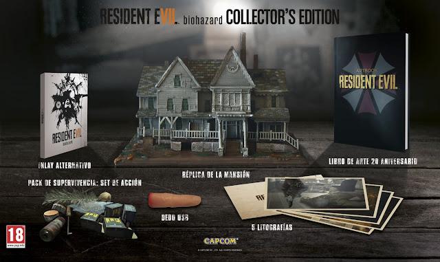 La edición coleccionista de RE7 Europea sí incluirá el juego, ya disponible para reservar