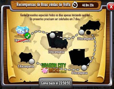 Novo Bônus - Recompensas de Boas-Vindas de Volta!