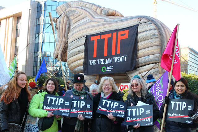 TTIP: Ο Δούρειος Ίππος των ΗΠΑ στην Ευρώπη