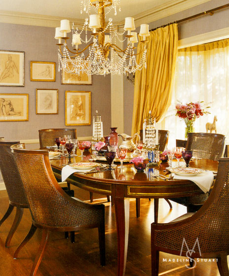 Stuart Woods Apartments: Vivere: GATHER ROUND: Dazzling Dining Rooms & Perfect Tables