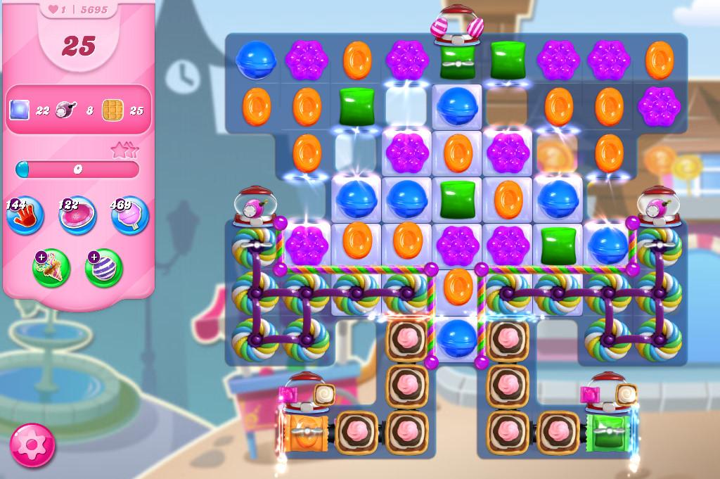 Candy Crush Saga level 5695