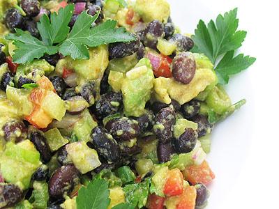 Zesty Black Bean and Avocado Salad