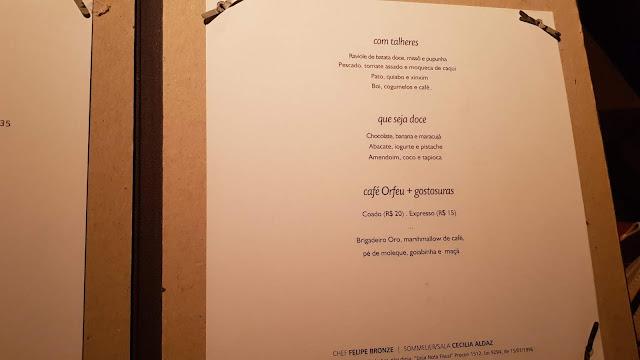 Blog Apaixonados por Viagens - Restaurante Oro - Leblon - Onde comer no Rio