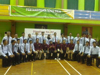 Pelatihan dan Penataran Wasit Tenis Meja Tingkat Provinsi Sumatra Selatan