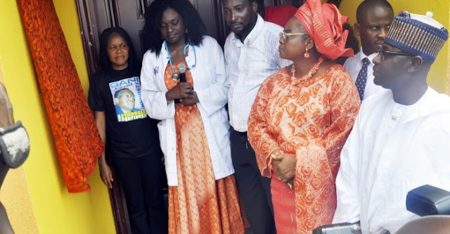 'Gani Lives Forever': Fawehinmi's Daughter Opens Hospital in His Honour (PHOTOS)