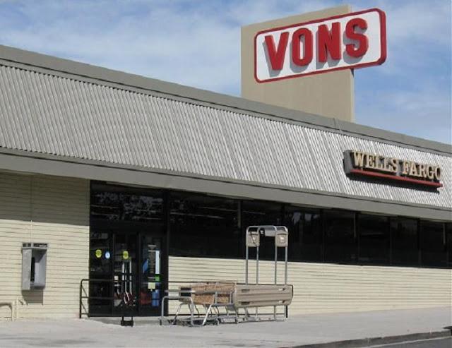 Supermercado Vons em Los Angeles