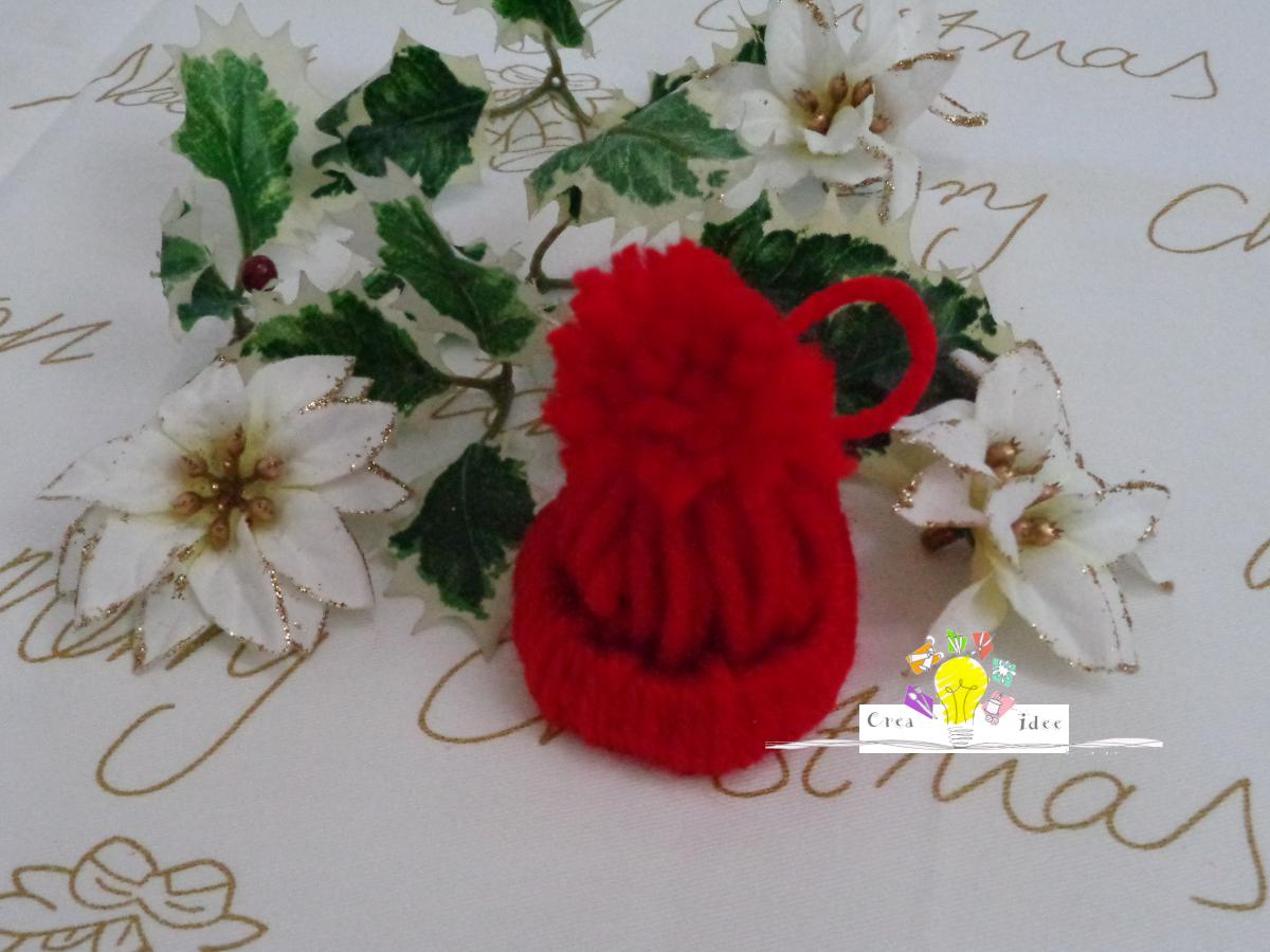 Idee Di Riciclo Per Natale addobbi per natale: il cappellino | crea idee