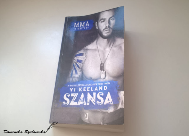 "#171 Recenzja książki ""MMA Fighter. Szansa"" Vi Keeland"