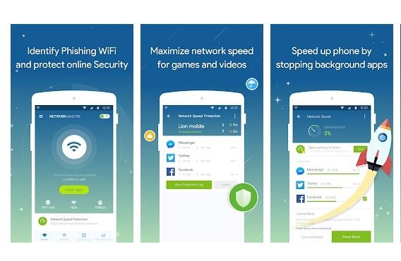 Aplikasi #5 Penguat Sinyal WiFi Android Dengan Network Master