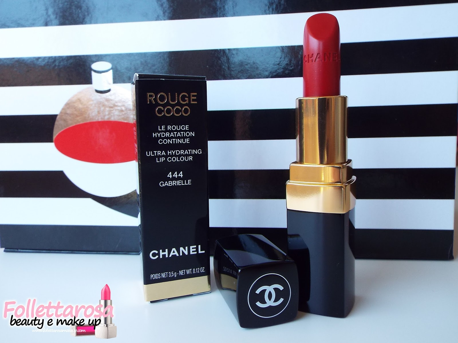 rossetto rosso chanel rouge coco