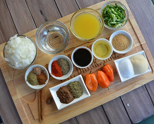 Marinade recipe for jerk chicken