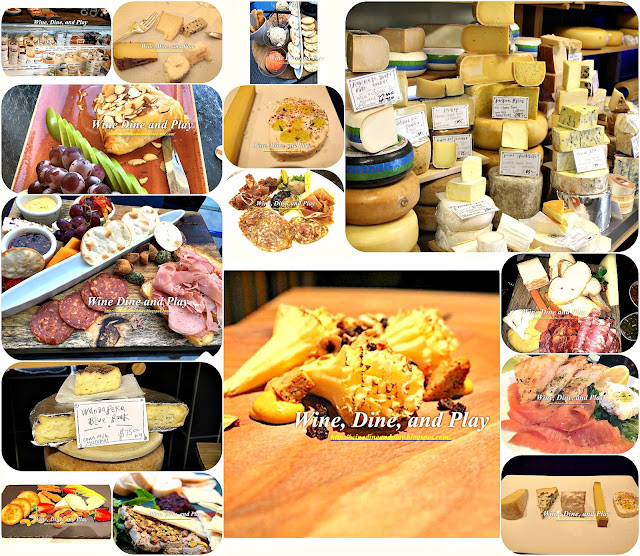Cheese and Charcuterie from around the world on Wine Dine And Play
