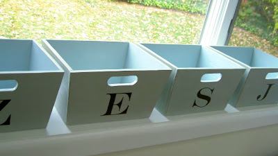That S My Letter Mudroom Bins
