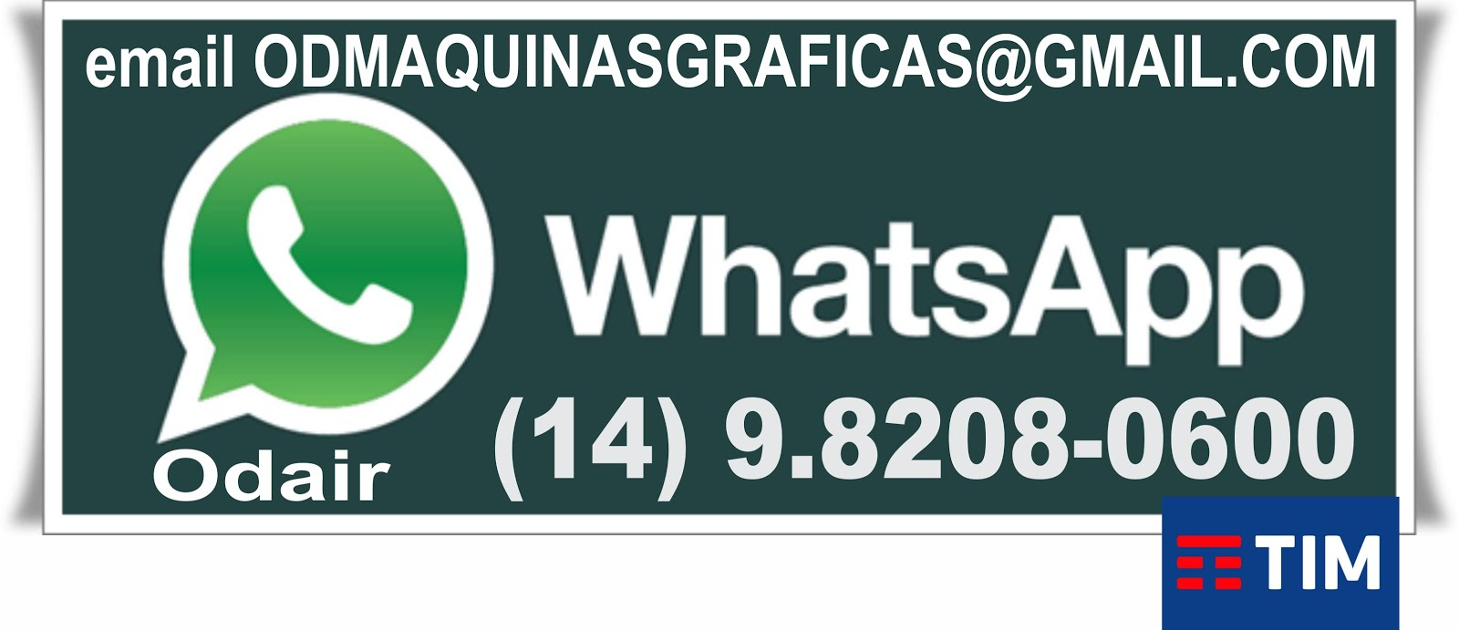 WhatsApp 14 9.8208-0600
