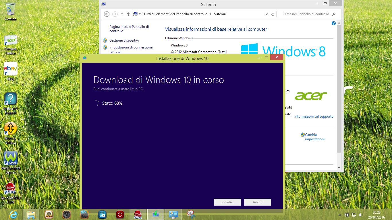 Come mantenere tutte le App e le impostazioni originali di PC Windows 7, 8, 8.1, aggiornando a Windows 10 HTNovo