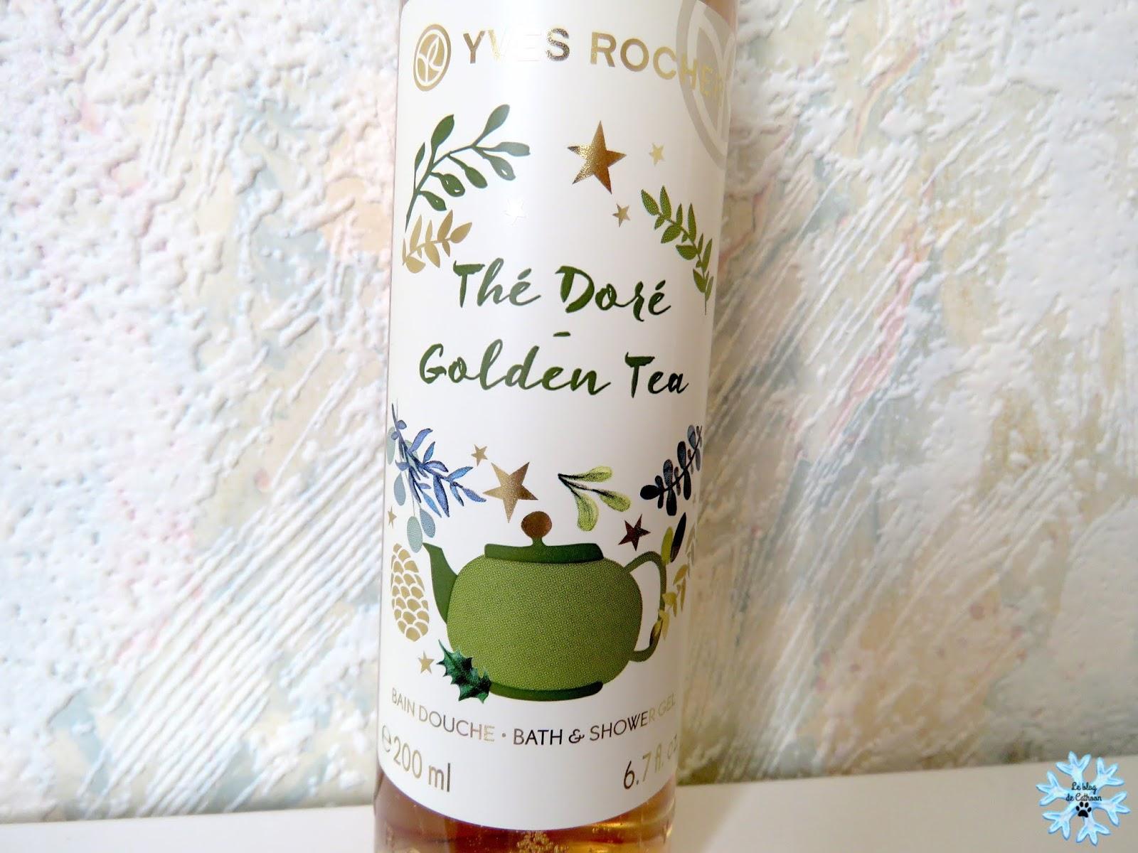 Thé Doré - Golden Tea - Gel Douche - Yves Rocher