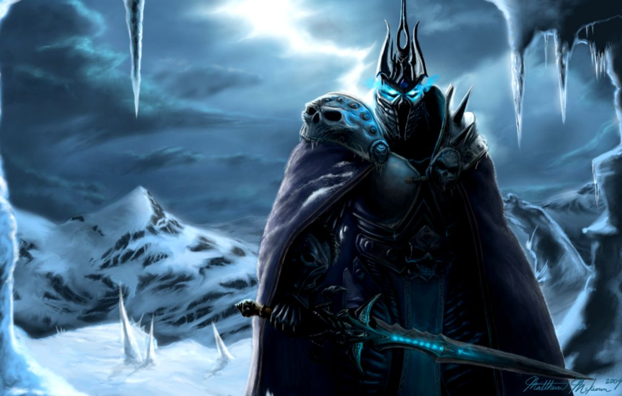 World Of Warcraft Arthas Armor Picture Wallpaper Lock