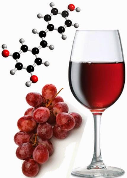 Resveratrol potente antioxidante de la uva