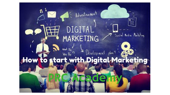 """كورسات اون لاين لتعلم مجال التسويق الالكترونى """" ديجيتال ماركتينج - Digital Marketing """" مجانا"""