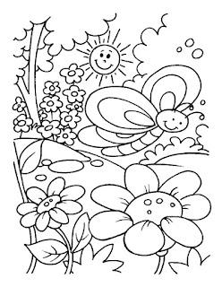 Ζωγράφισε την Άνοιξη και τα ανθισμένα λουλούδια